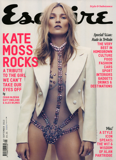 Kate Moss Esquire September 2013